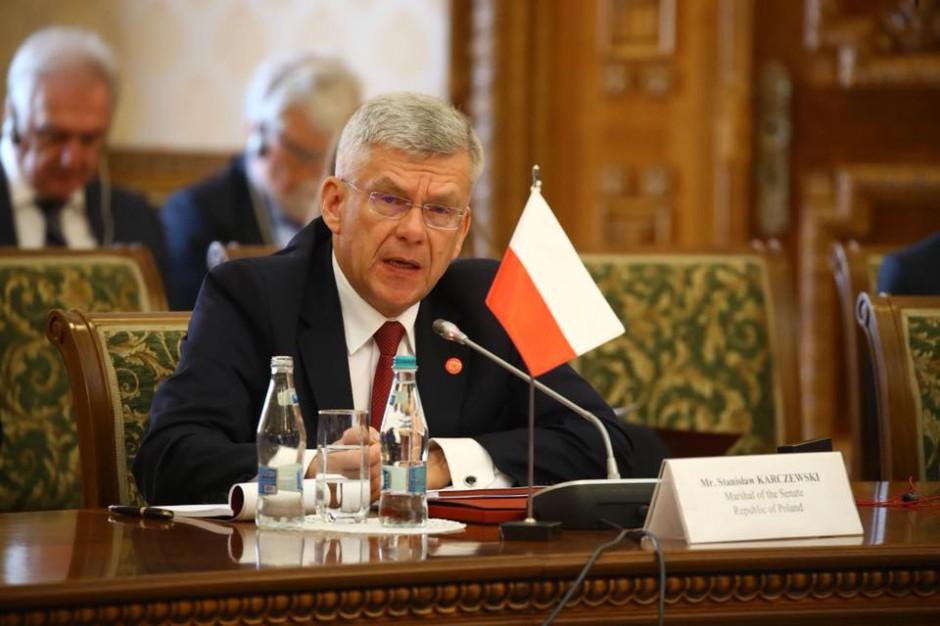 Marszałek Senatu: Rozważane jest przeprowadzenie referendum jednocześnie z wyborami samorządowymi
