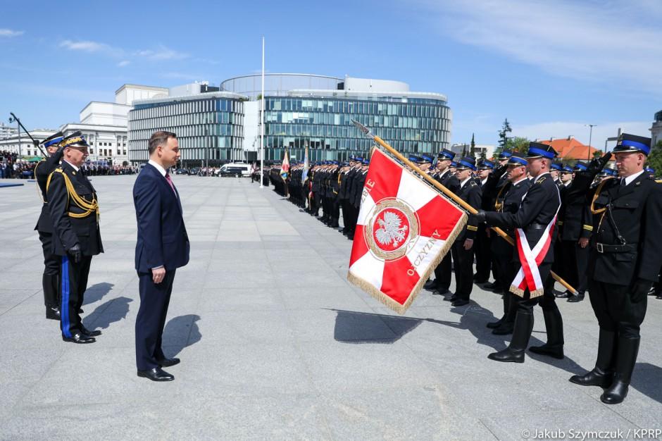 Centralne Obchody Dnia Strażaka w Warszawie
