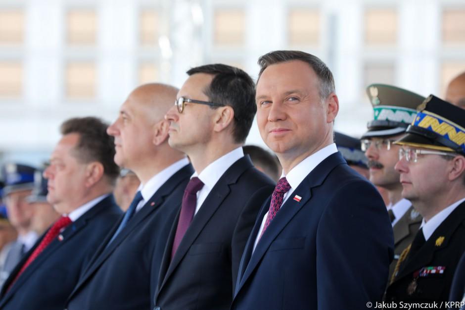 Centralne Obchody Dnia Strażaka. Premier, prezydent, szef MSWiA podziękowali druhom