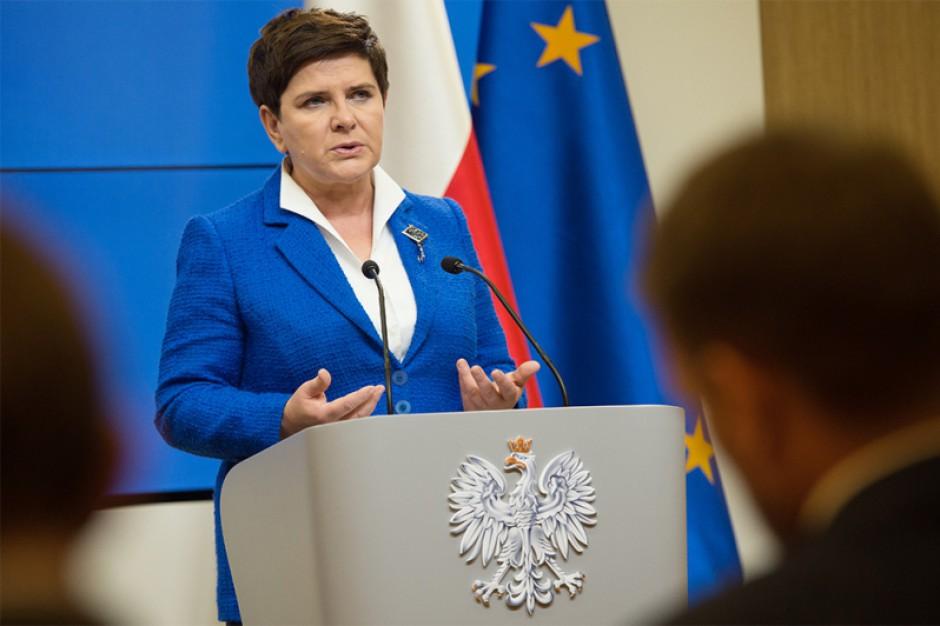 Beata Szydło, ministrowie środowiska, inwestycji i rozwoju, edukacji i zdrowia spotkają się samorządami i biznesem w Katowicach