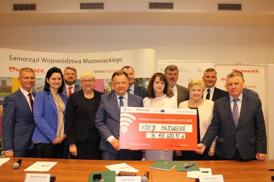 Koleje Mazowieckie rozpoczynają realizację umowy ze Stadlerem. Do 2022 r. kupią 61 pociągów