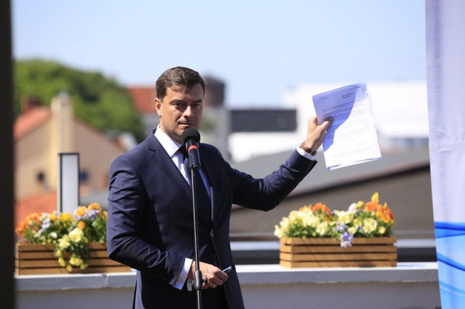 Grzegorz Rusiecki kandydatem PO i Nowoczesnej w Lesznie