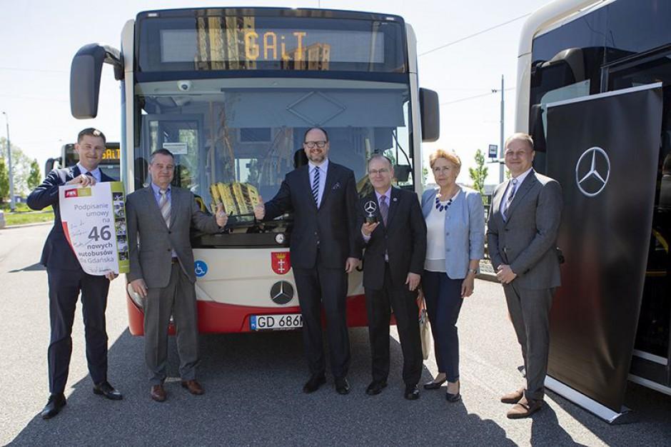 Gdańsk. Podpisano umowę na zakup 46 nowych autobusów