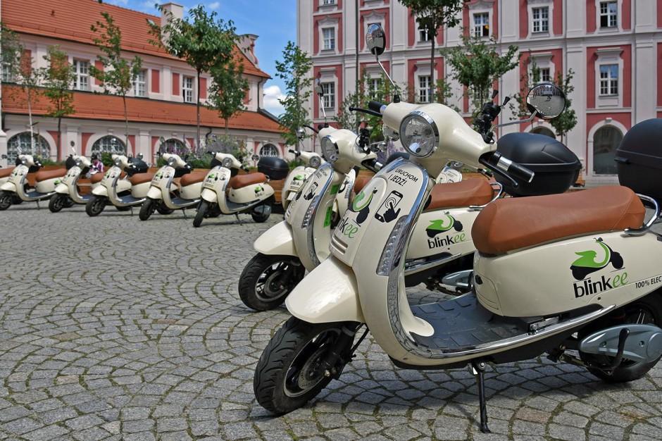 Poznań: Rusza wypożyczalnia elektrycznych skuterów. Będzie ich jeszcze więcej