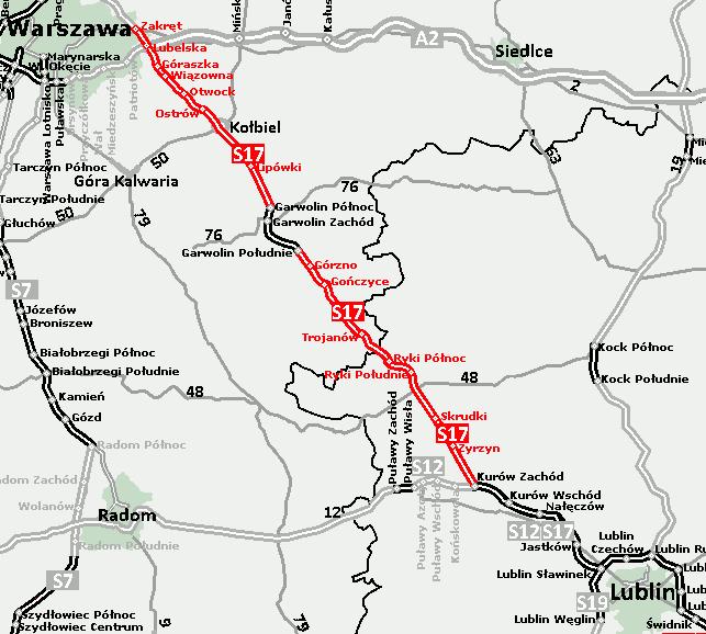 Droga ekspresowa S17. Fot. mi.gov.pl