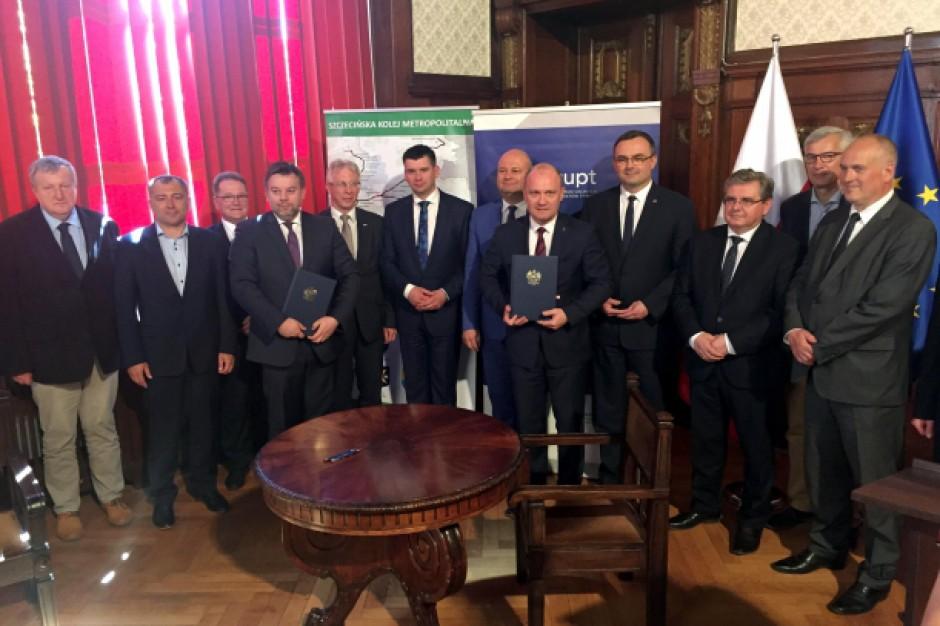 Szczecińska Kolej Metropolitalna z unijnym dofinansowaniem. Będą nowe tory i pociągi