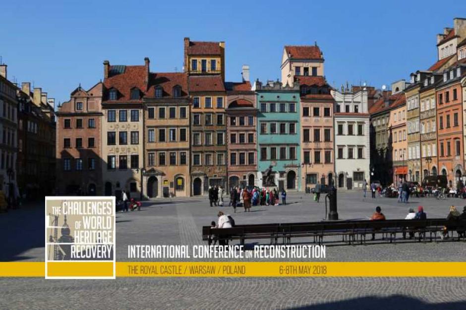 Rekomendacja Warszawska ws. odbudowy i rekonstrukcji dziedzictwa kultury przyjęta