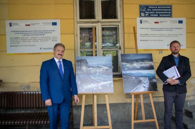 Projekt inwestycji zakłada stworzenie w budynku podwójnych kas biletowych – dla komunikacji samochodowej i kolejowej oraz części usługowej i gastronomicznej (fot.mat.prasowe)