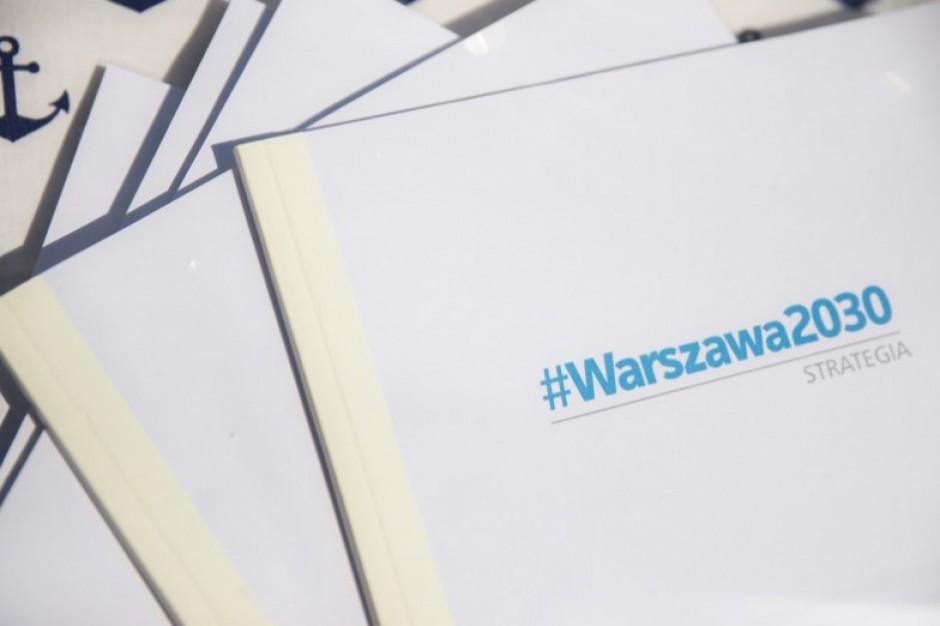 Rada Warszawy przyjęła Strategię #Warszawa 2030