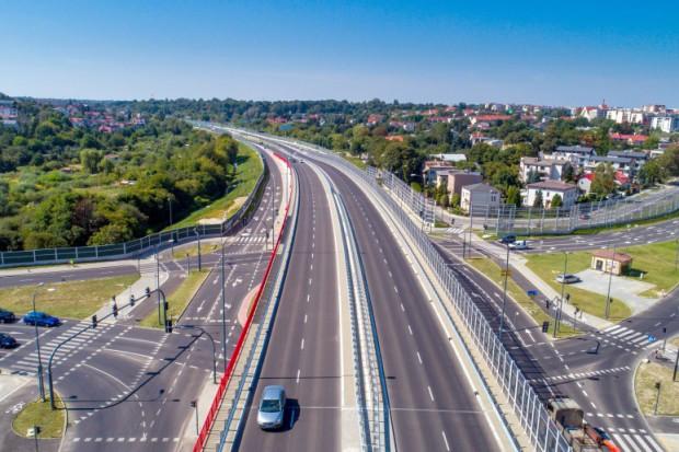 Dwupoziomowe skrzyżowanie w Lublinie
