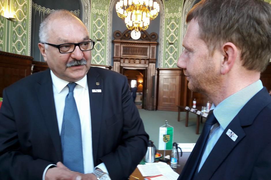 Szczyt Partnerstwa Odry w Dreźnie