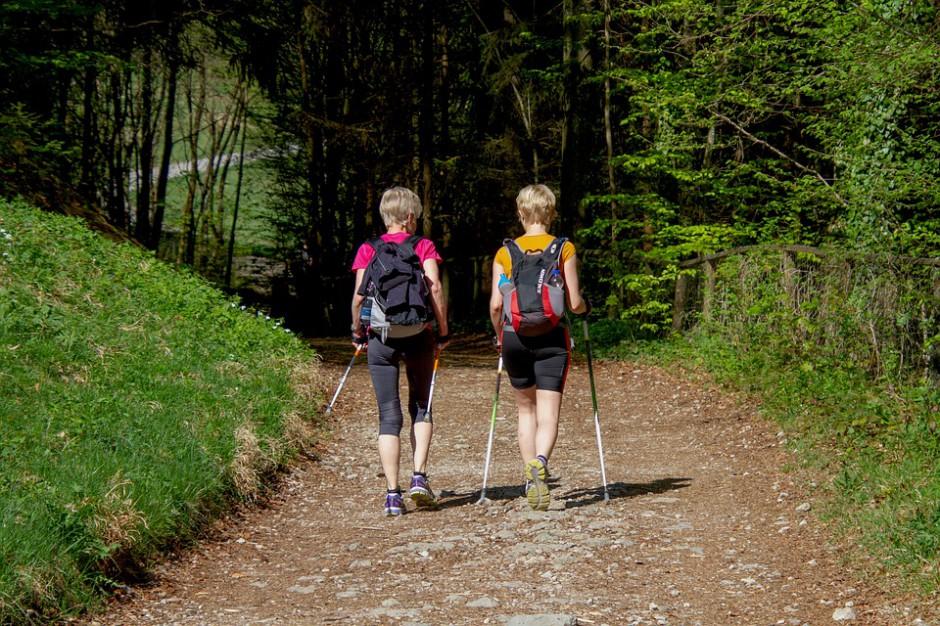 Podlaskie: trasy nordic walking coraz popularniejsze w regionie