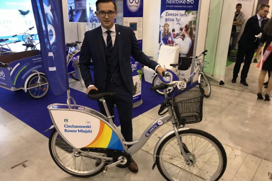 Ciechanów uruchomi system wypożyczania rowerów miejskich