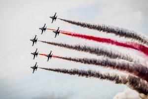 Poznań Air Show: Tysiące osób na podniebnych pokazach lotniczych