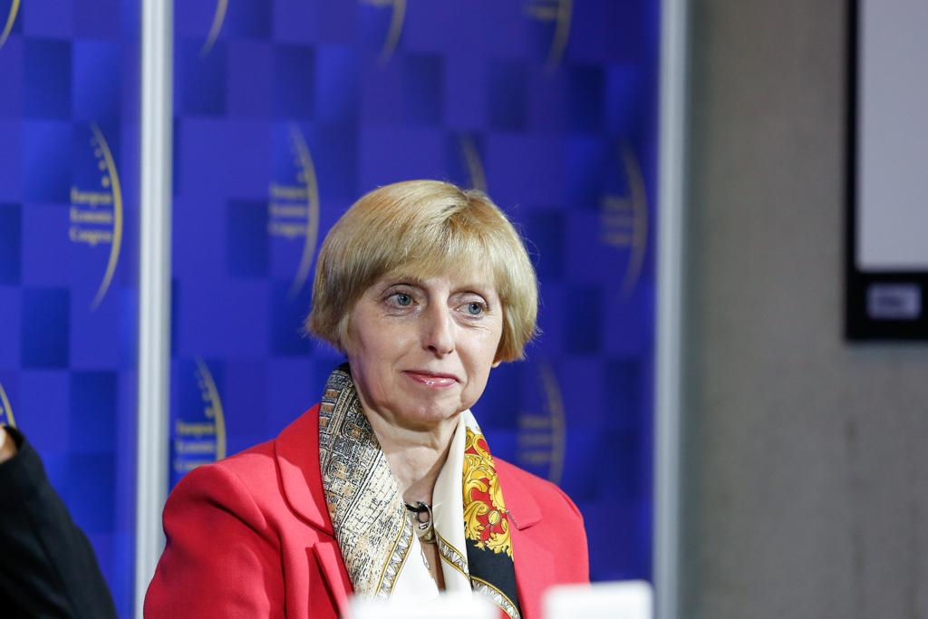 Prof. Grażyna Trzpiot, kierownik Katedry Demografii i Statystyki Ekonomicznej Uniwersytetu Ekonomicznego w Katowicach (fot. PTWP)