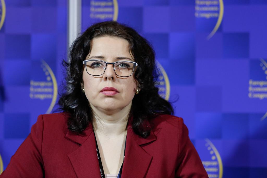 Anna Grygiek, burmistrz Strumienia (fot. PTWP)