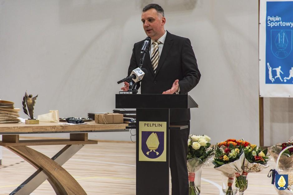 Patryk Demski, burmistrz Pelpina, złożył mandat