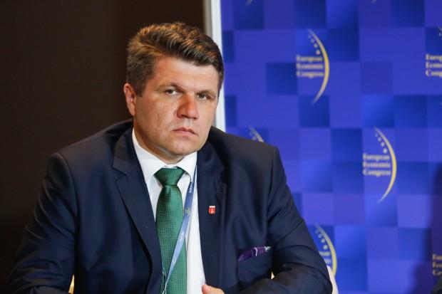 Paweł Okrasa burmistrz Wielunia (fot.ptwp)