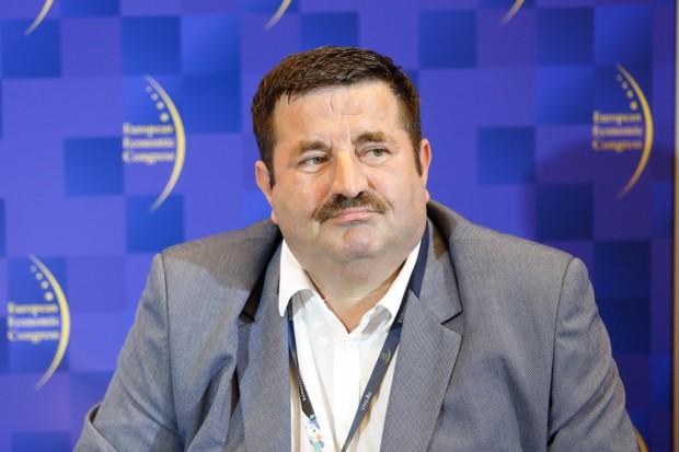 Piotr Szewczyk przewodniczący Rady RIPOK i prezes Zakładu Unieszkodliwiana Odpadów Orli Staw (fot.ptpw)