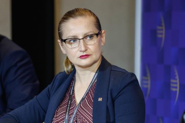 Magda Gosk dyrektor Departamentu Gospodarki Odpadami w Ministerstwie Środowiska (fot.ptwp)