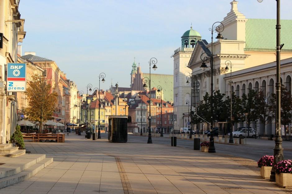 Warszawa stawia na ulice handlowe z prawdziwego zdarzenia