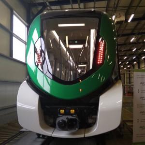 W chorzowskich zakładach Alstom podczas konferencji prasowej zaprezentowanoideę budowy nowoczesnego metra dla aglomeracji śląskiej. (fot. Aneta Kaczmarek)