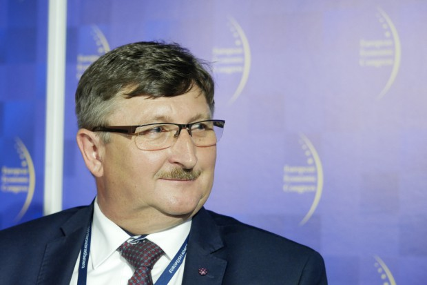 Jerzy Pilch, wójt gminy Brenna (fot. PTWP)