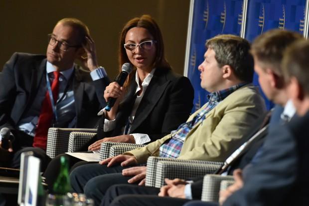 Branża wodno-kanalizacyjna jest atrakcyjna dla inwestorów - mówi Joanna Budzińska-Lobnig (Fot. PTWP)