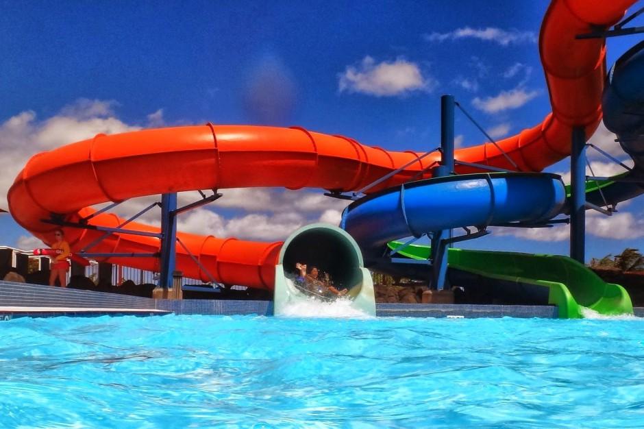 Jarosławiec: Aquapark Panorama Morska buduje najdłuższą zjeżdżalnię wodną w Polsce