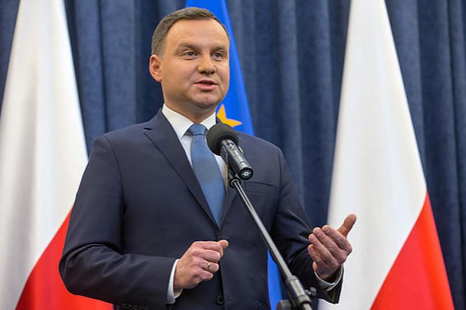 Prezydent Andrzej Duda na obchodach 58. rocznicy Wydarzeń Zielonogórskich