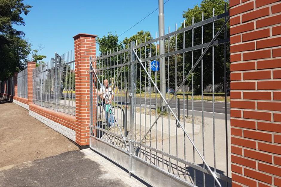 Koniec prac przy Cmentarzu Centralnym w Szczecinie