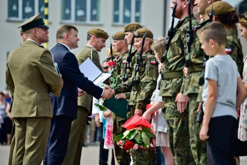 Radom: Przysięga żołnierzy 6. Mazowieckiej Brygady Obrony Terytorialnej
