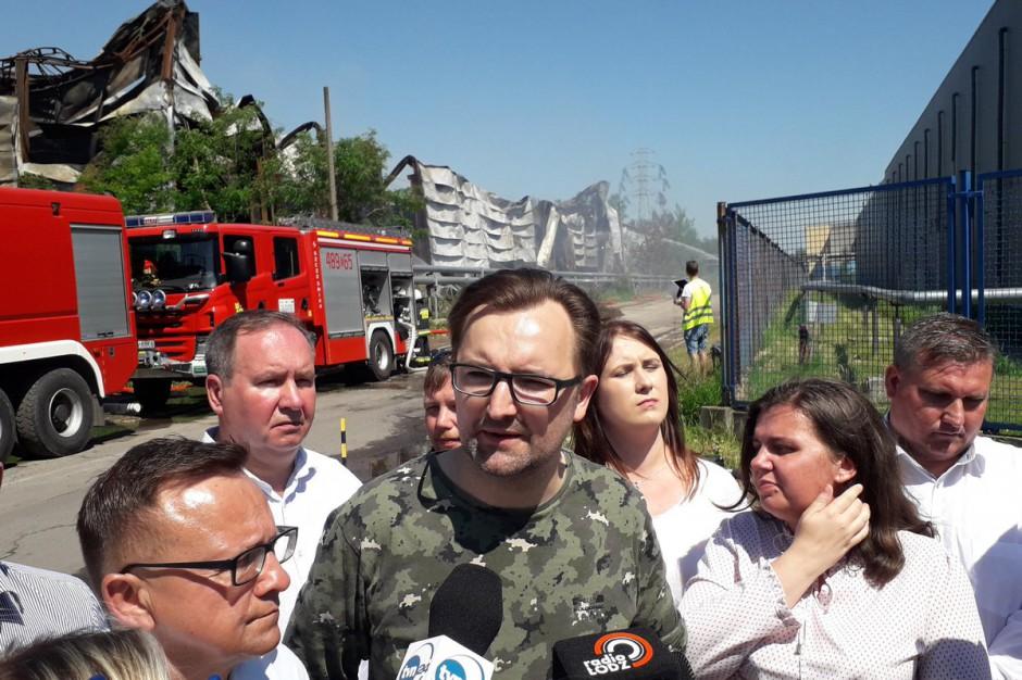 Sławomir Mazurek ostro ws. pożarów składowisk: Zero tolerancji dla mafii śmieciowej