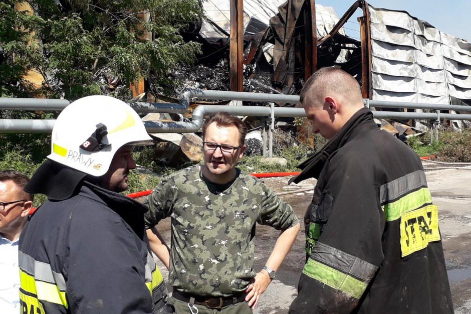 Pożary na składowiskach odpadów. Ministerstwo Środowiska przedstawi propozycje rozwiązań