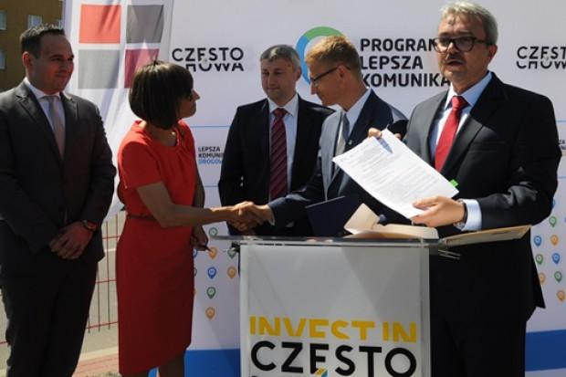 Zawarcie umowy (fot. UM Częstochowa)