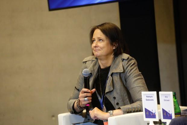 Katarzyna Śledziewska, dyrektor zarządzająca DELab UW (fot. PTWP)