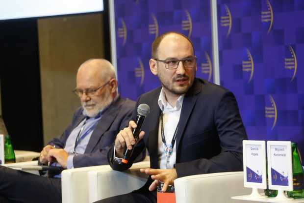 Dominik Kopera z Departamentu Telekomunikacji w Ministerstwie Cyfryzacji (fot. PTWP)