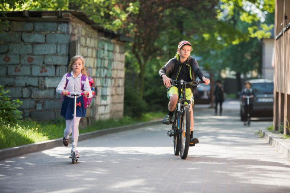 Tylko w Gdańsku 32 tys. dzieci dotarło do szkoły jednośladami. Rowerowy szał ogarnął całą Polskę