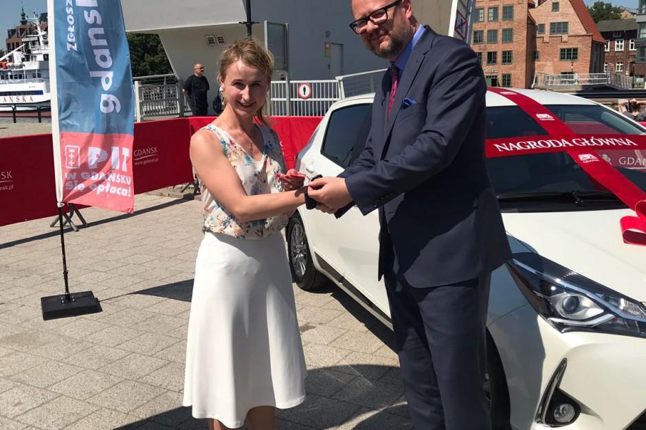 Samochód za PIT-a. Gdańsk odwdzięcza się za składane deklaracje podatkowe