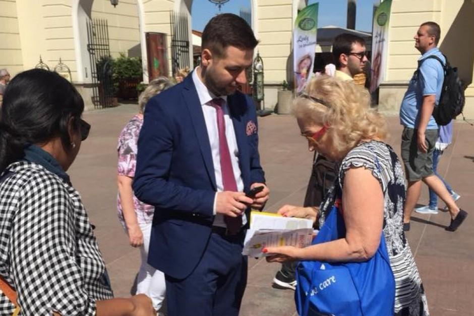 Patryk Jaki chce wprowadzić szlaki rowerowe do planowania przestrzennego w Warszawie