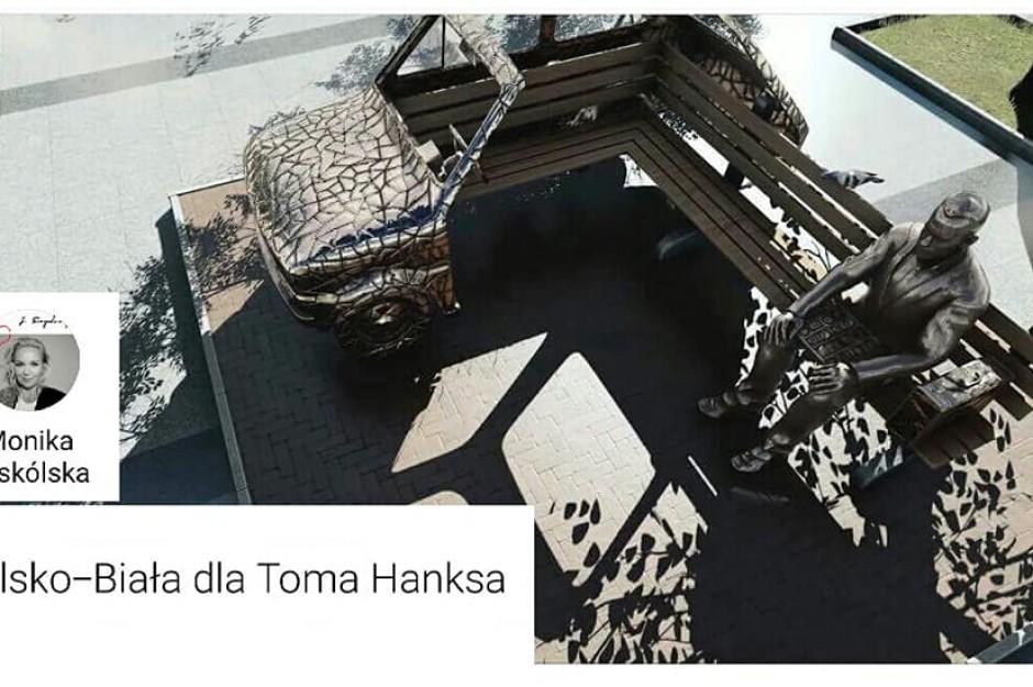 Jest już projekt bielskiej ławeczki z Tomem Hanksem i Fiatem 126
