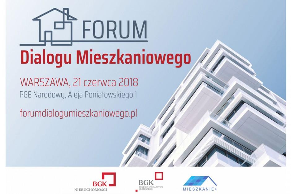 Zaproszenie na Forum Dialogu Mieszkaniowego