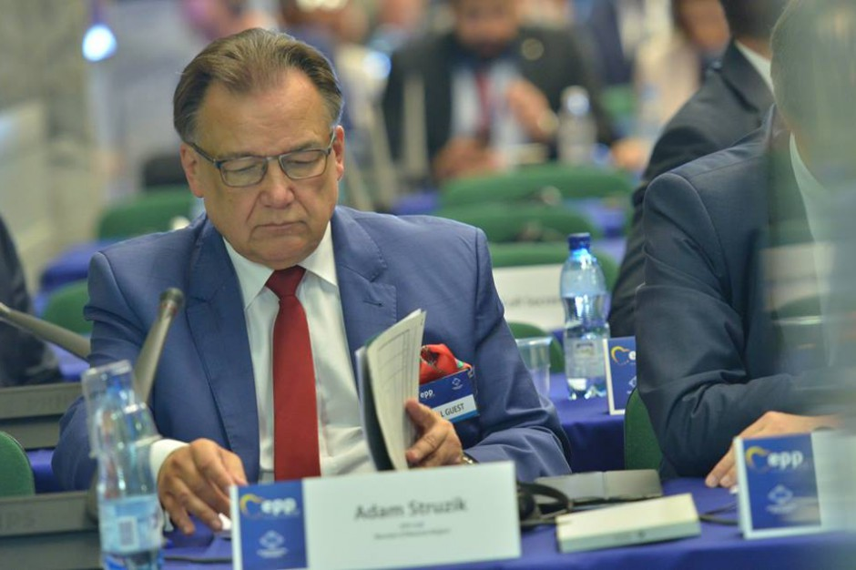 Adam Struzik do instytucji UE: Uwzględnić statystyczny podział Mazowsza ws. funduszy