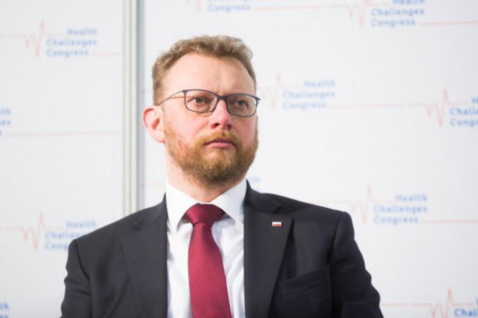 Minister zdrowia zapowiada zmiany w sieci szpitali