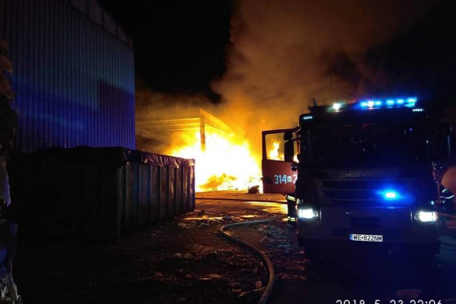 """Sławomir Mazurek, pożary odpadów: Nie jest prawdą, że palą się głównie śmieci z zagranicy"""""""