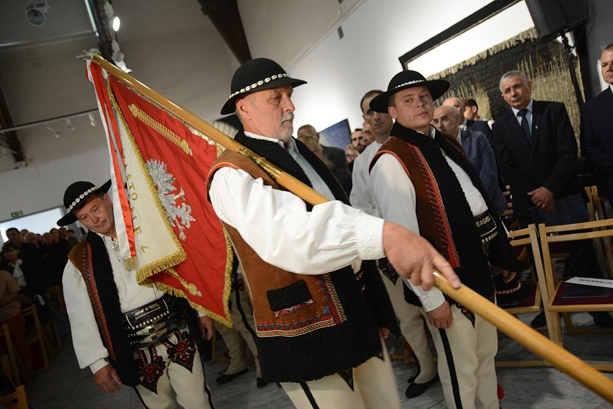Uroczystość (fot.: Anna Karpiel-Semberecka/UM Zakopane)