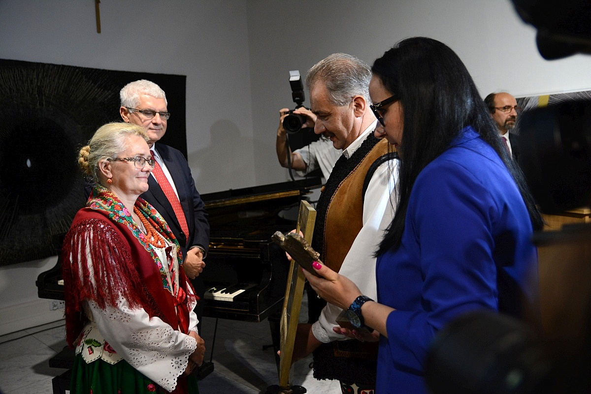 Zofia Kubiniec-Stanuch i dr Marcin Zieliński (fot.: Anna Karpiel-Semberecka/UM Zakopane)