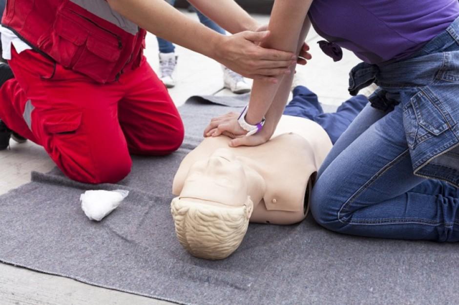 W MOP-ach nauczą udzielania pierwszej pomocy