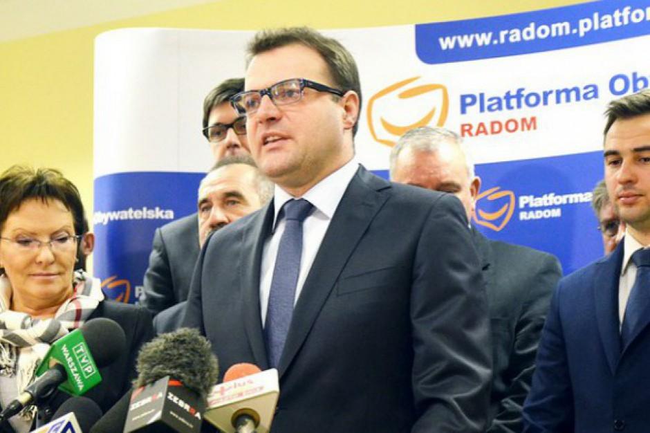Radom: PO i Nowoczesna podpisały porozumienie o wspólnym starcie w wyborach samorządowych