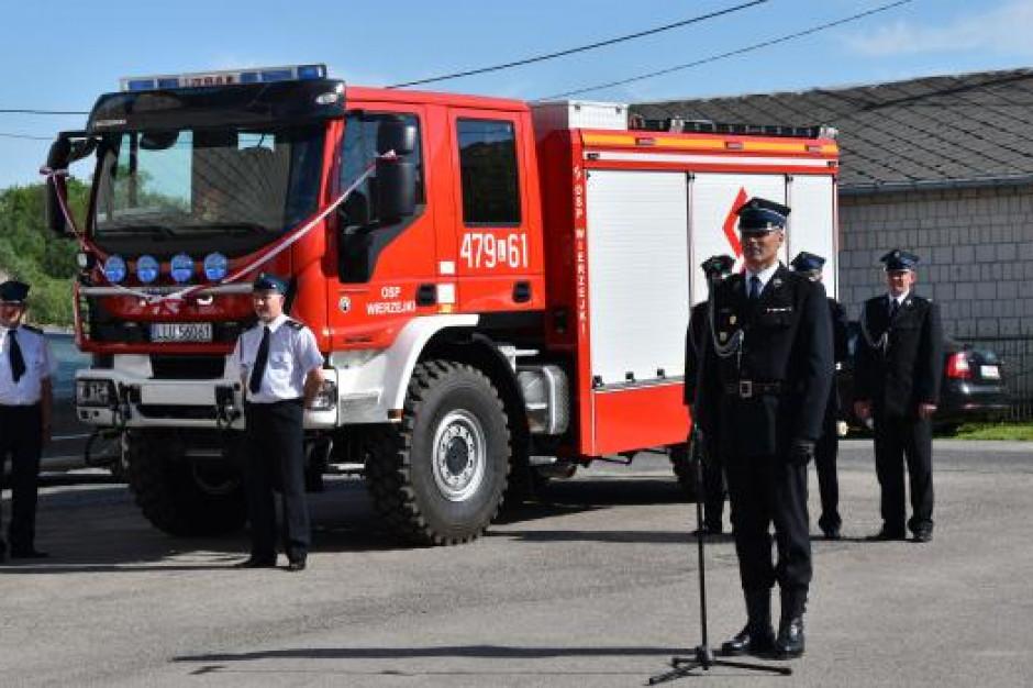 Program wsparcia dla Ochotniczych Straży Pożarnych. Będzie na wozy, łodzie i sprzęt